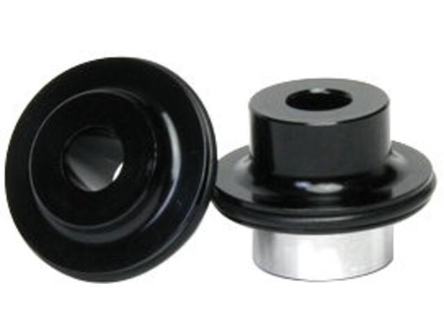 NoTubes päätytapit eteen 9 mm pistoakseliin ZTR/3,30 HD Disc Hub Type II , musta
